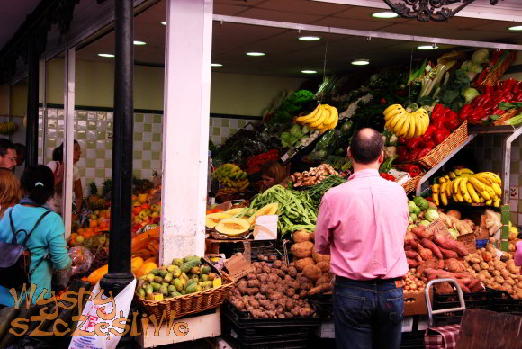 Warzywa w La Recova