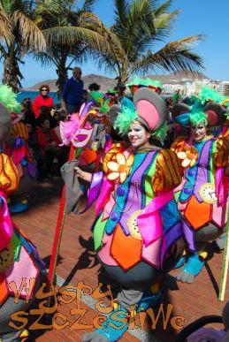 Parada Dziecięca w Las Palmas