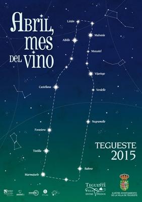 Kwiecień Miesiącem Wina Tegueste 2015