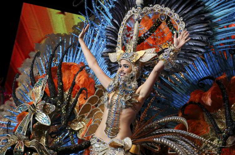 Królowa Karnawału Santa Cruz de Tenerife 2015