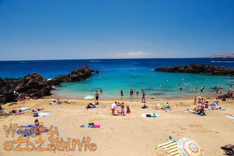 Playa Chica w Puerto del Carmen