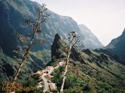 Trasa trekkingowa w wąwozie Masca